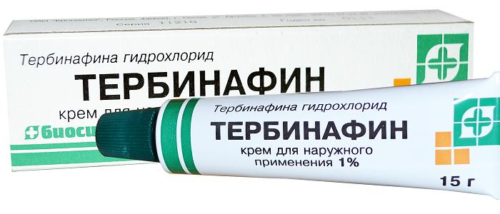 Тербинафин крем от грибка стопы