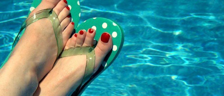 Можно ли посещать бассейн с грибком ногтей