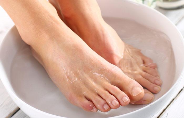 Ванночки для ног от грибка: противогрибковые домашние 79